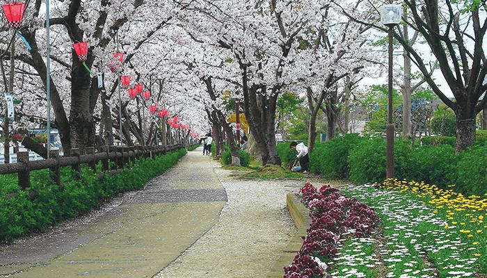 芳塘園(妹尾緑道公園)