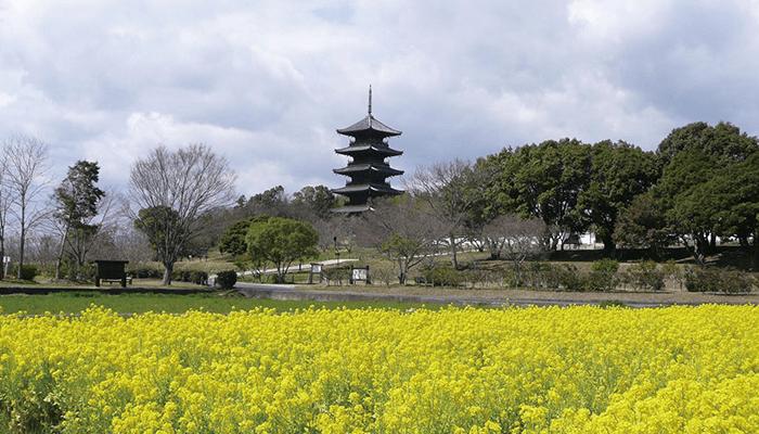 备中国分寺五重塔