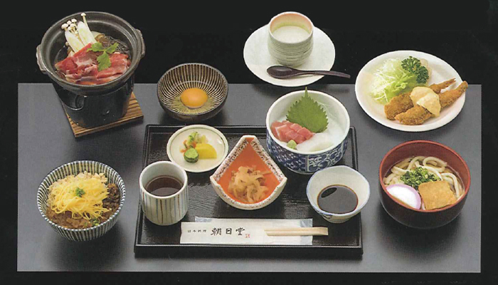 日本料理 朝日堂