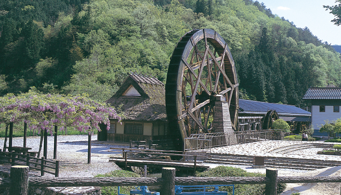 Yume Suki Park (parent and child water mill)