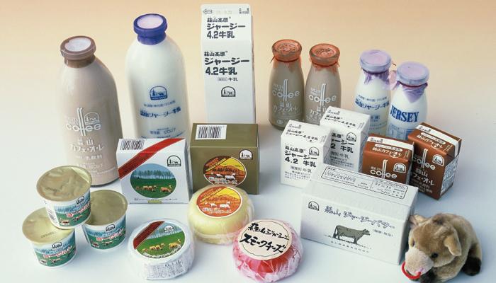 蒜山ジャージー牛乳・乳製品