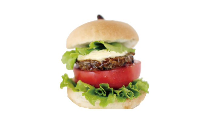 Mimasaka Black Bean Burger (Kitchen Kuromame)